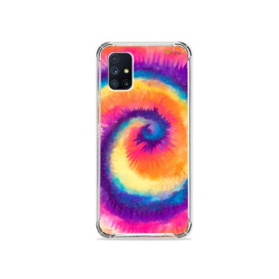 Capa para Galaxy M51 - Tie Dye Roxo