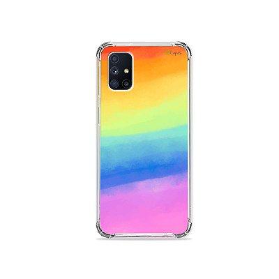 Capa para Galaxy M51 - Rainbow