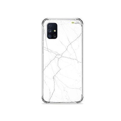 Capa para Galaxy M51 - Marble White