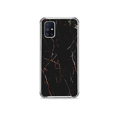 Capa para Galaxy M51 - Marble Black