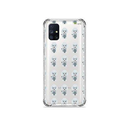 Capa (Transparente) para Galaxy M51 - Poodle