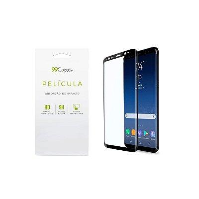 Película de Gel (com bordas) para Galaxy S9 Plus