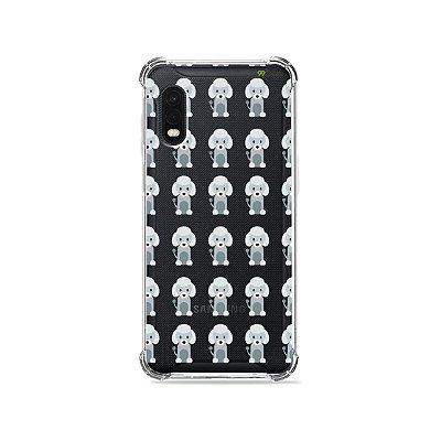 Capa (Transparente) para Galaxy XCover Pro - Poodle