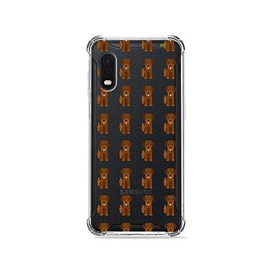 Capa (Transparente) para Galaxy XCover Pro - Golden