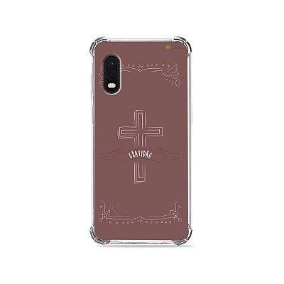 Capa para Galaxy XCover Pro - Gratidão