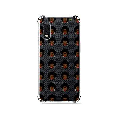Capa (Transparente) para Galaxy XCover Pro - Black Girl