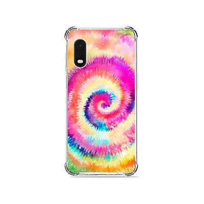 Capa para Galaxy XCover Pro - Tie Dye