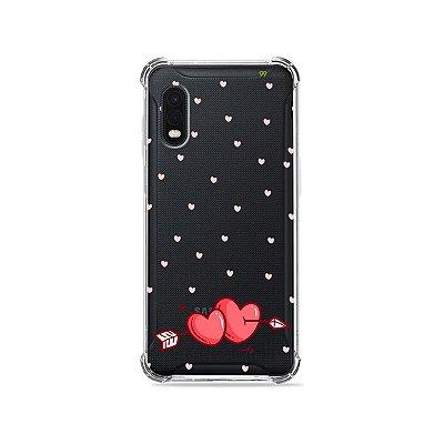 Capa (Transparente) para Galaxy XCover Pro - In Love
