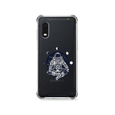 Capa (Transparente) para Galaxy XCover Pro - Astronauta