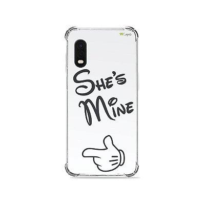 Capa para Galaxy XCover Pro - She's  Mine