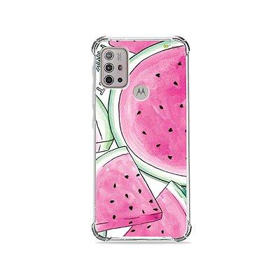 Capa para Moto G10 - Watermelon