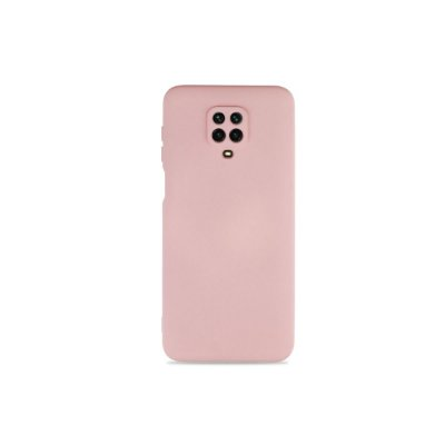 Silicone Case Nude para Redmi Note 9 Pro (com proteção na câmera)