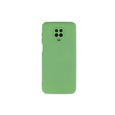Silicone Case Verde Oliva para Redmi Note 9S (com proteção na câmera)