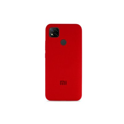 Silicone Case Vermelha para Redmi 9C