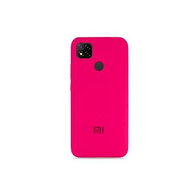 Silicone Case Pink para Redmi 9C