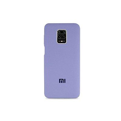 Silicone Case Lilás para Redmi Note 9S (Aveludada)