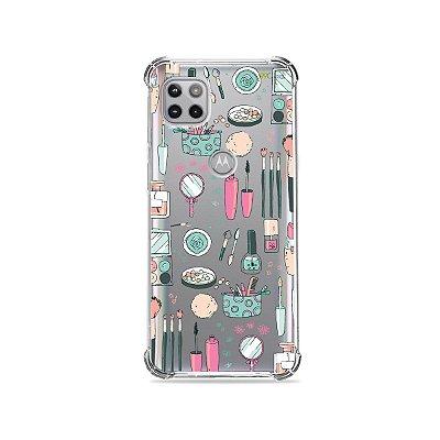Capa (Transparente) para Moto G 5G - Make Up