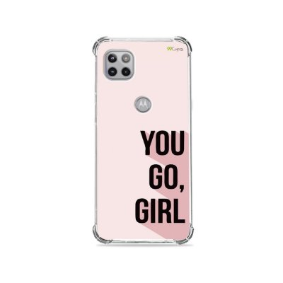 Capa para Moto G 5G - You Go, Girl