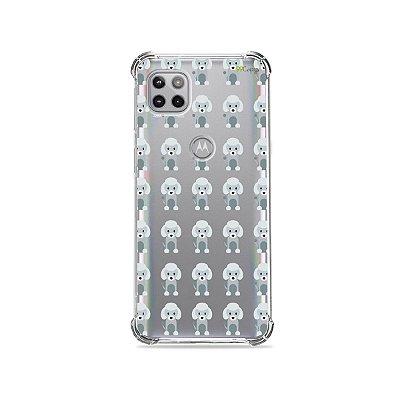 Capa (Transparente) para Moto G 5G - Poodle