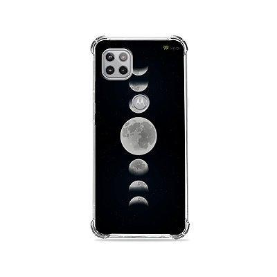 Capa para Moto G 5G - Fases da Lua