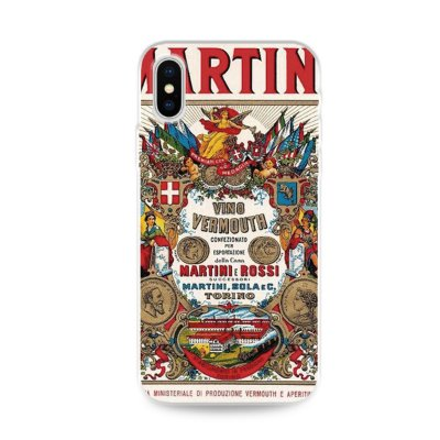 Capa para iPhone X / XS - Martini