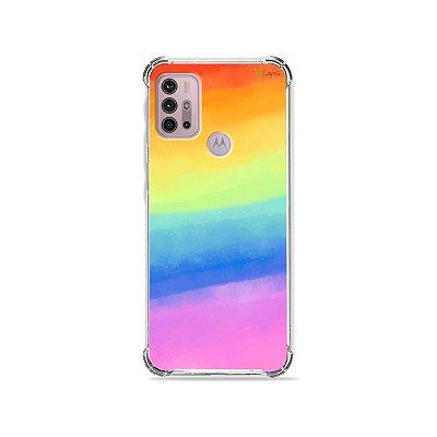 Capa para Moto G30 - Rainbow