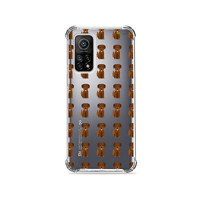 Capa (Transparente) para Xiaomi Mi 10T Pro - Golden