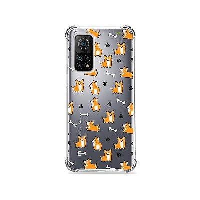 Capa (Transparente) para Xiaomi Mi 10T Pro - Cãozinho