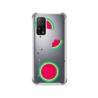Capa (Transparente) para Xiaomi Mi 10T Pro - Melancias