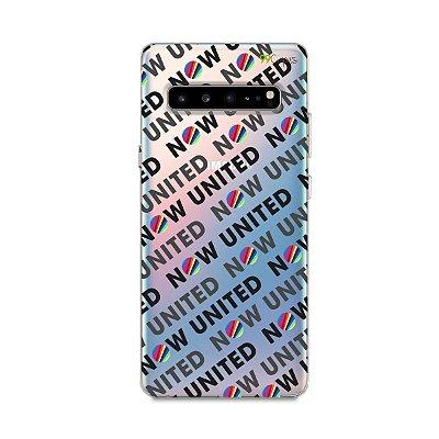Capinha (transparente) para Galaxy S10 - Now United 3