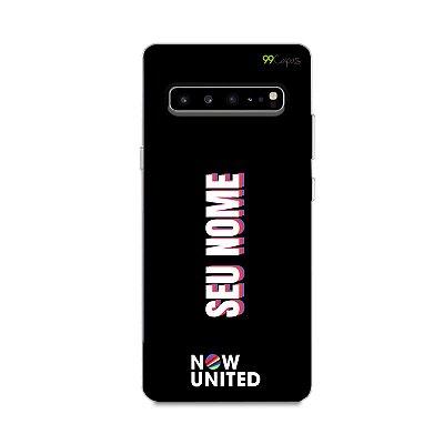Capinha Now United com nome - Galaxy S