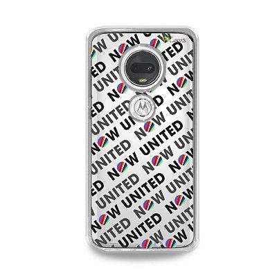 Capa para Moto G7 Plus - Now United 3