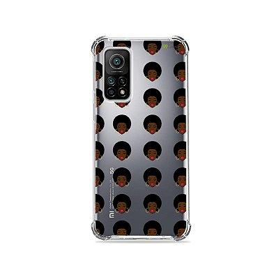 Capa (Transparente) para Xiaomi Mi 10T Pro - Black Lives