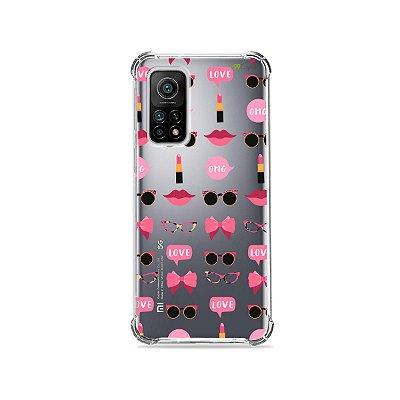 Capa (Transparente) para Xiaomi Mi 10T Pro - Girls