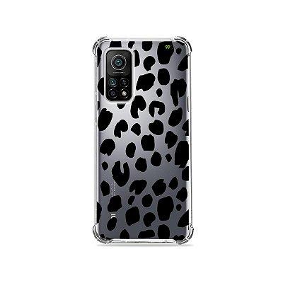 Capa (Transparente) para Xiaomi Mi 10T Pro - Animal Print Basic