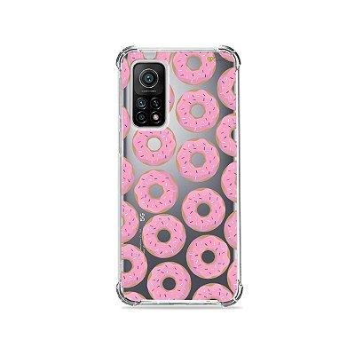 Capa (Transparente) para Xiaomi Mi 10T Pro - Donuts