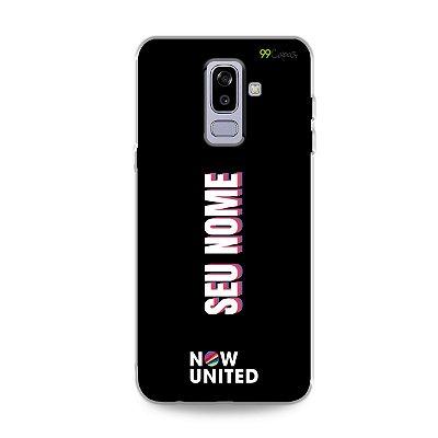 Capinha Now United com nome - Galaxy J
