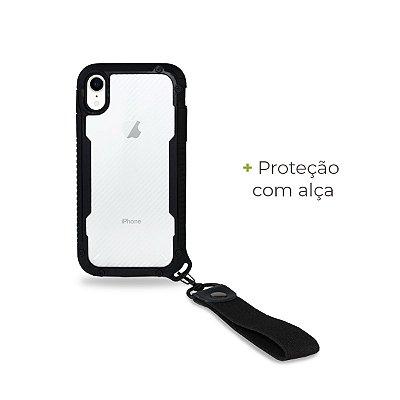 Capa Hold Preta para iPhone XR - 99Capas