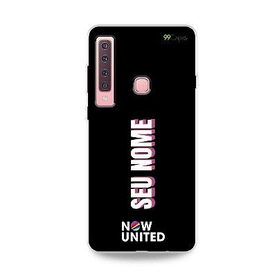 Capinha do Now United com nome personalizado para Galaxy A