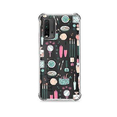 Capa (Transparente) para Redmi 9T - Make Up