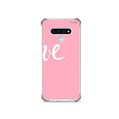 Capa para LG K71 - Love 2