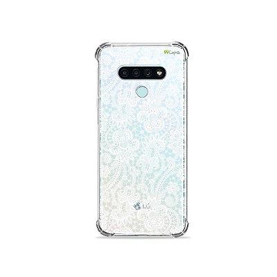 Capa (Transparente) para LG K71 - Rendada