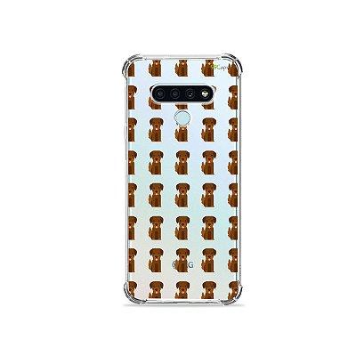 Capa (Transparente) para LG K71 - Golden