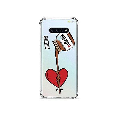 Capa (Transparente) para LG K71 - Nutella