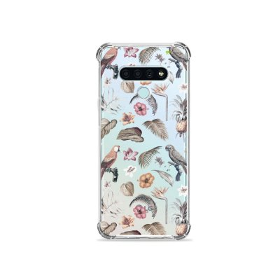 Capa (Transparente) para LG K71 - Sweet Bird