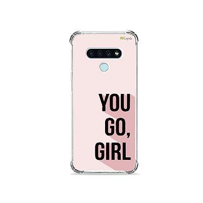 Capa para LG K71 - You Go, Girl