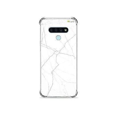 Capa para LG K71 - Marble White