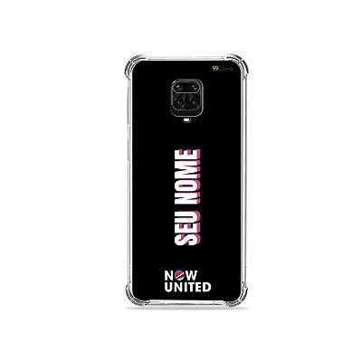 Capinha Now United personalizada com nome para Xiaomi - 99Capas