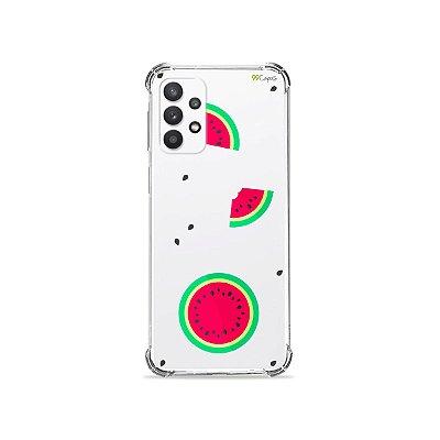 Capa (Transparente) para Galaxy A32 5G - Melancias