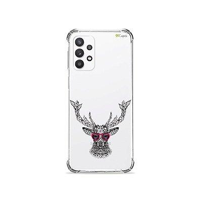 Capa (Transparente) para Galaxy A32 5G - Alce Hipster